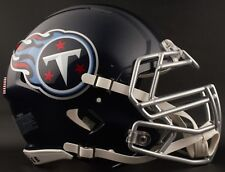 TENNESSEE TITANS NFL Authentic GAMEDAY Football Helmet w/S3BDU Facemask