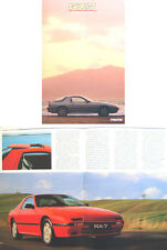 Mazda RX-7 Rotary Coupe 1986-87 Original UK Sales Brochure No. RX-7/86/3/25,000