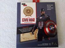 NEW Captain America Shield - 3D Wood Model - The BAM Box - 03/17  SEALED