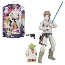 """Star Wars Forces of Destiny Adventure Friends - Luke & Yoda 11"""" Figure set"""