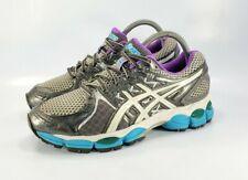 Asics Gel Nimbus 14 Running Training Athletic Shoes Womens Size 7.5 D Gray T292N