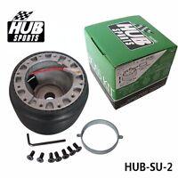 Steering Wheel Boss Hub Adapter for SUZUKI SAMURAI SANTANA mk1 3DR & 5DR