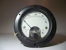 1mA FSD DC Meter 400mA Scale UK 1963 /I MOD Military Spec moving iron meter GWO