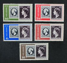 CKStamps: Luxembourg Stamps Collection Scott#C16-C20 Mint H OG