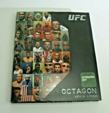 New listing UFC Octagon by Kevin Lynch Signed Autographed Book Photos Randy Couture DS66
