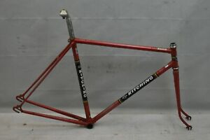 1975 Ron Kitching Escape Touring Road Bike Frame Set 56cm Medium Steel Charity!!