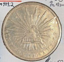 Mexico 1908 MoAm Km 409.2 Peso Au