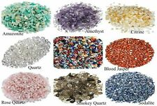Tumbled crystals mini gemstone chips 500 carat lot natural crystal gem stone