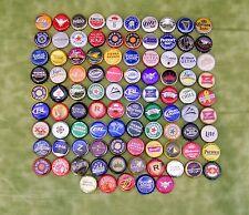 90 + Different Bottle Caps Lot Micro & Domestic