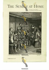 Waifs And Strays, Joseph Clark, Book Illustration (Print), 1885