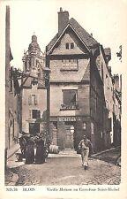 BR72618 blois vieille maison au carrefour saint michel    france