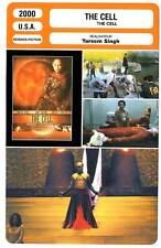 FICHE CINEMA : THE CELL - Lopez,Vaughn,D'Onofrio,Bauchau 2000