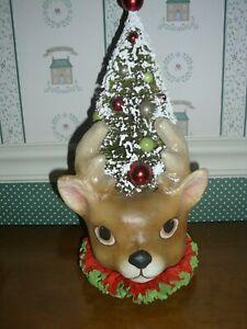 BETHANY LOWE-CHRISTMAS-RETRO  REINDEER TREE-NEW