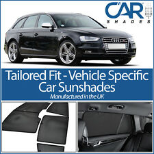 AUDI A4 AVANT 08-15 B8 UV CAR SHADES WINDOW SUN BLINDS PRIVACY GLASS TINT BLACK