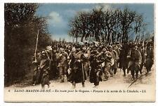 BAGNE.CITADELLE.SAINT-MARTIN-DE-Ré.FORçATS.DéPART POUR LA GUYANE.CONVICTS.