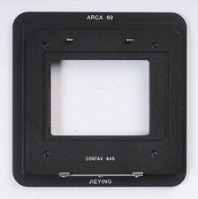 Contax 645 Back For Arca 69 Adapter Phase One Sinar Leaf Hasselblad Sinar Blatt
