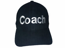 Coach Black Baseball Cap Embroidered Quality Hat