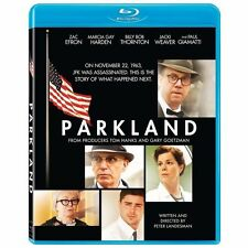 Parkland Blu-ray Zac Efron Jeremy Strong Billy Bob Thornton Jacki Weaver