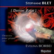 Oeuvres Pour Piano Docteur Faust Vol. 1, New Music