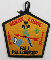 OA Lodge 116 Santee eX1979-3, Fdl; Fall Fellowship [D1719]