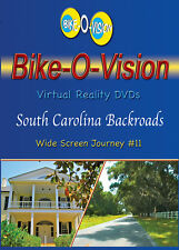"Bike-O-Vision Cycling Video ""South Carolina Backroads"" BLU-RAY"