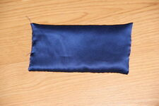 "Flax Seed Eye Pillow ,4"" x 8"",100% silk fabric"