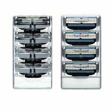 4 Blades For Gillette Fusion Razor Shaving Shaver Trimmer Refills CartridgesecL