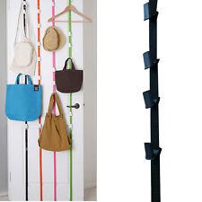 Adjustable Bathroom Door Handbag Hat Bag Clothes Cap Rack Hook Hanger Strap