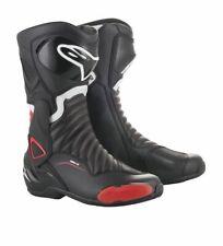 Alpinestars SMX-6 V2 Motorcycle Motorbike Sports Boot - Black/White/Red