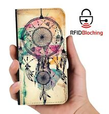 Genuine MYBFF Dreamcatcher Retro PU Leather Phone Wallet Case Cover for Galaxy