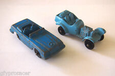 TOOTSIETOY LOT OF TWO METAL CARS MERCEDES & ROADSTER
