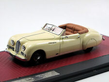 Matrix scale models 1950 Talbot lago t26 Cabriolet by antem Cream 1/43