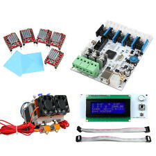 GT2560 dual MK8 extruder LCD2004 5pcs A4988 kits for Prusa I3 dual 3D Printer