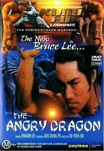 THE ANGRY DRAGON DVD (PAL, 1978) VGC, FREE POST