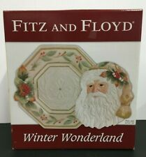 Fitz and Floyd - Winter Wonderland - Plate and Server Set
