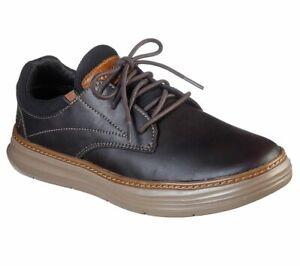 Men's Skechers Moreno Soren Casual Shoes, 66229 /CHOC Multiple Sizes Chocolate