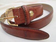 Authentique ceinture YVES SAINT LAURENT cuir vintage à saisir