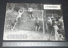 PHOTO PRESTINE-VELOX 1927 CHAMPIONNAT DES DEBROUILLARDS