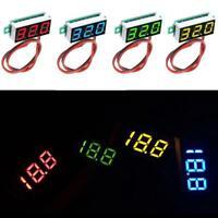 0.28 Inch 2.5V - 30V Mini Digital Voltmeter Voltage Meter Tester F0D0