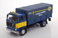 1:43 DeAgostino Volvo F88 ASG Spedition blue/yellow