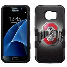 for Samsung Galaxy S7 Armor Impact Hybrid Cover Case Ohio State Buckeyes #B