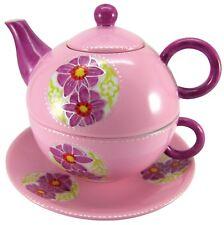 "Wunderschön: Tea for One ""Fleur"", 3-teiliges Set der Marke Prettea"
