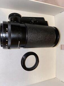 Schneider Kreuznach Novoflex Xenar 135mm F/4.5, Squeeze Focus Tele Lens NIKON F