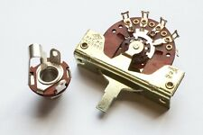 """Vintage Spec CRL 5 Way Selector Switch & Switchcraft 1/4"""" Guitar Jack Combo"""