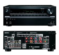 Onkyo TX-SR636 7.2 3D 4K Home Cinema AV Network HD Receiver 9x HDMI Dolby Atmos