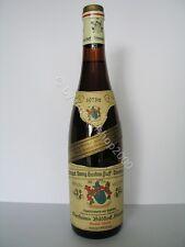 w285) 242,71€ /L Wein 1973 Niersteiner Bildstock Silvaner Eiswein Auslese 0,7L