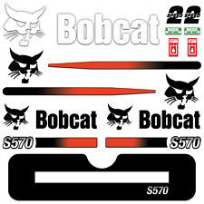 Decal Kit for Bobcat S570 Skid Steer Track Loader Graphic Early 2000s 570 Decals