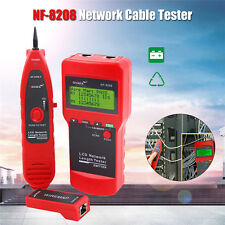 NF-8208 Network Cable Length Tester and LCD Fault Locator RJ45 for Cat5E Cat6E
