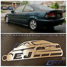 97-00 Honda Civic EJ JDM Stainless Steel metal Key chain / B16 D16 EG EF EJ1