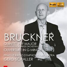 Bruckner / Prague Ra - Quintet in F Major / Overture in G Minor [New CD]